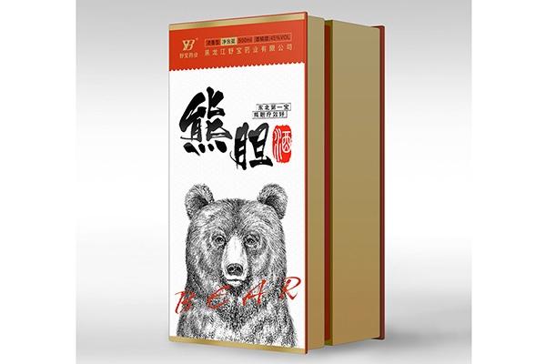 熊胆酒包装 (2)