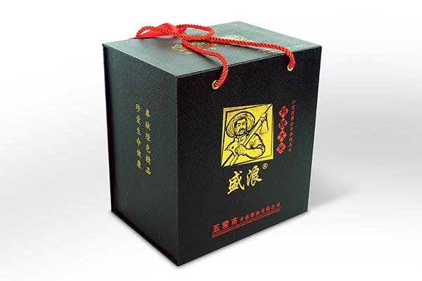 盛浪烫金礼盒